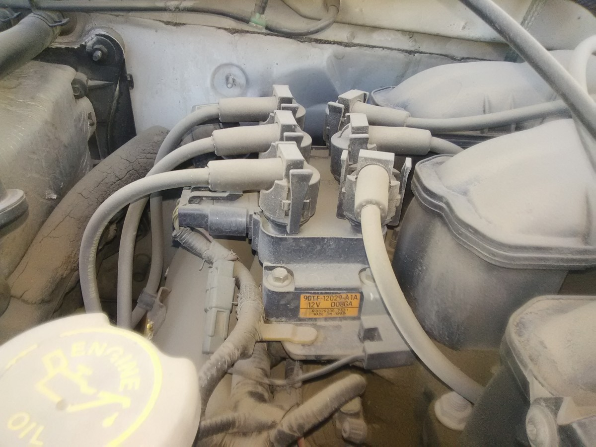 Check ignition coils for signs of contamination and damage.