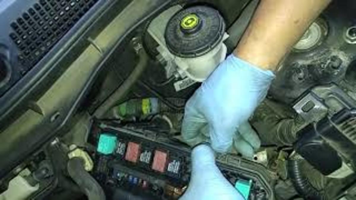 Accessing the Honda Accord fuse box