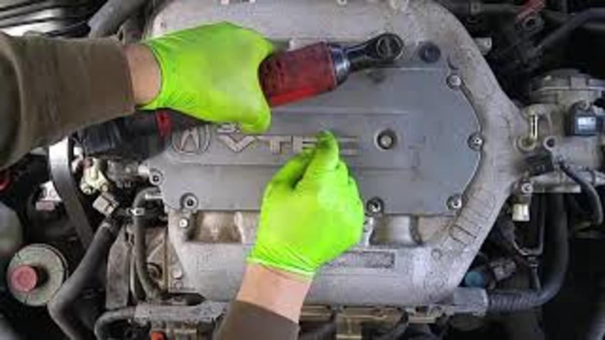 Removing the Honda V6 intake plenum