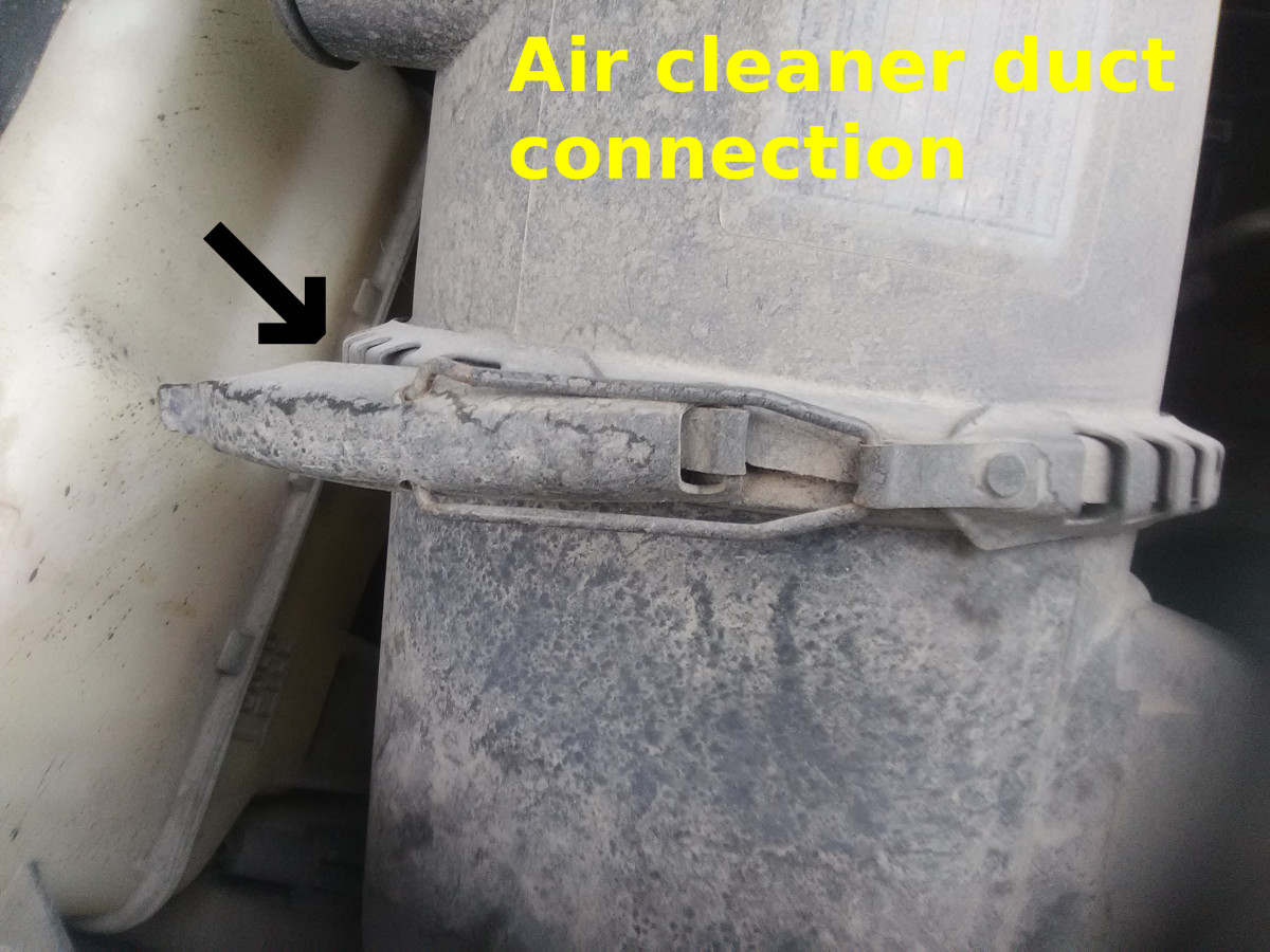 A loose or torn air cleaner boot can lead to high idle.