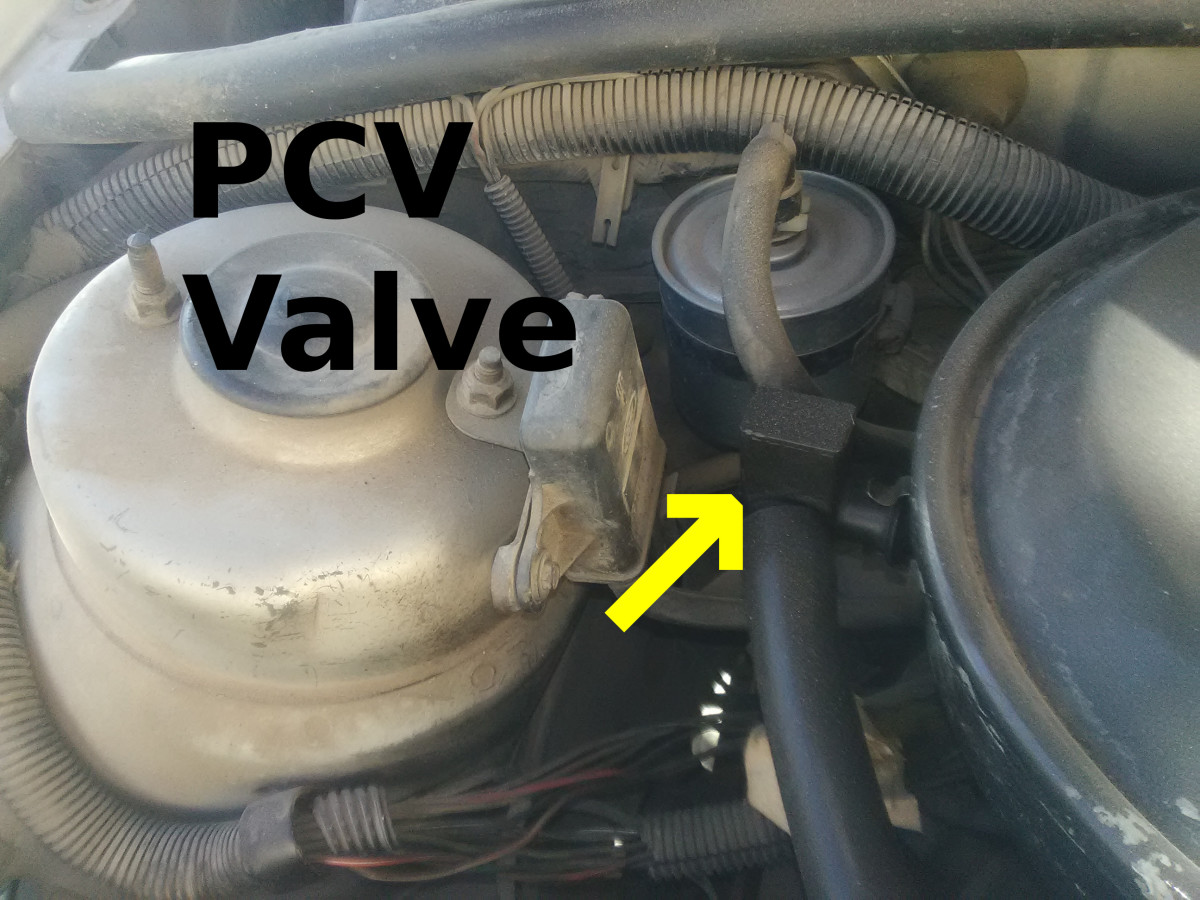 Check the PCV valve for an suck-open condition.