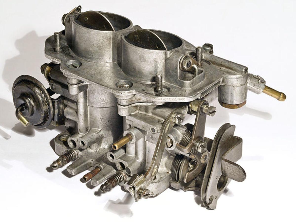 Check the carburetor idle adjustments.