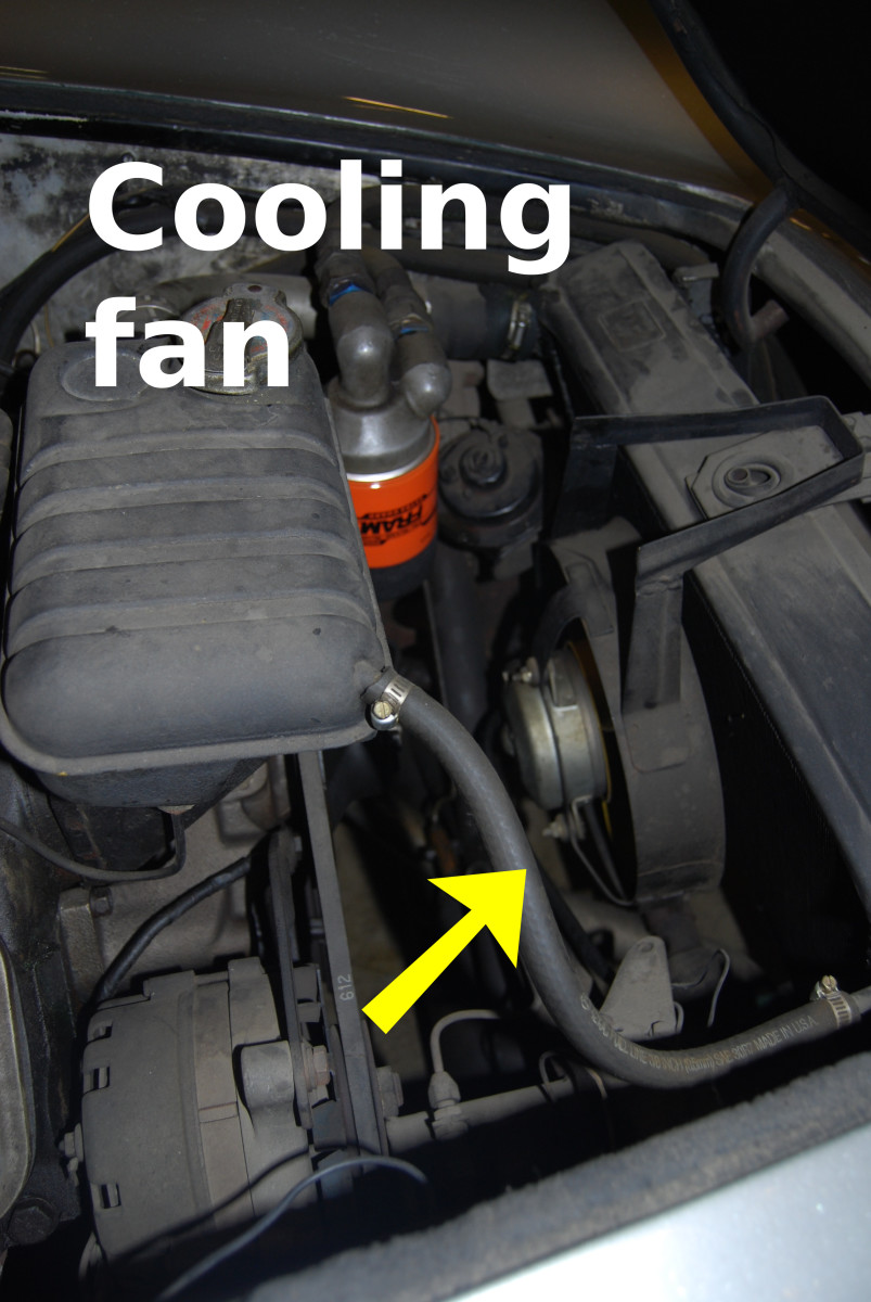 Make sure the cooling or condenser fan is working properly.