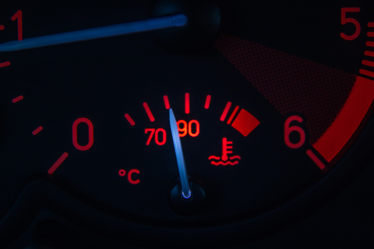 Make sure your temperature gauge is working correctly.