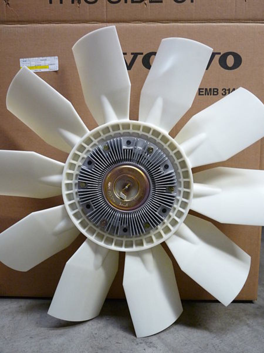 A faulty fan clutch can keep the cooling fan running.