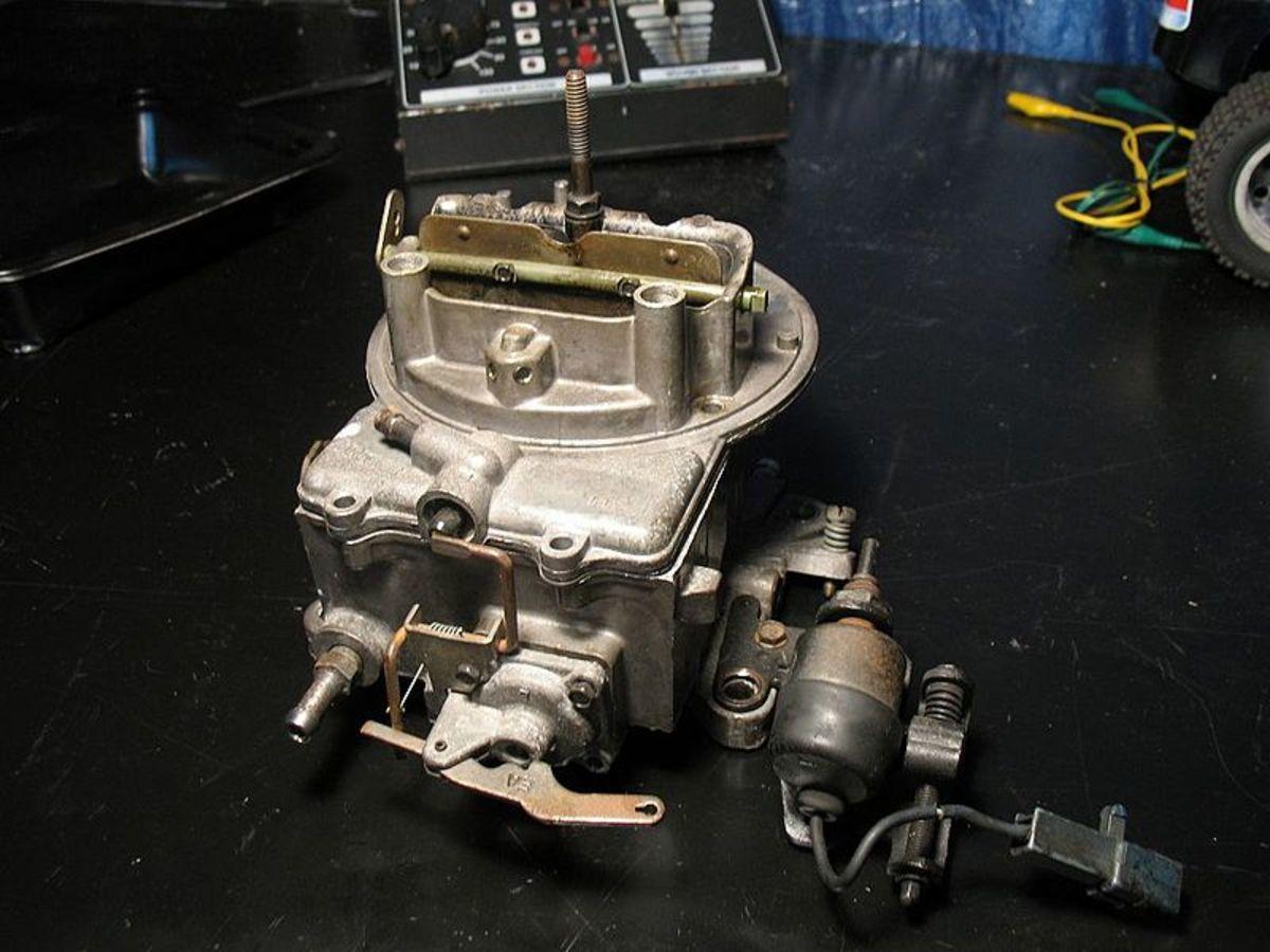 Check carburetor idle adjustments, if necessary.