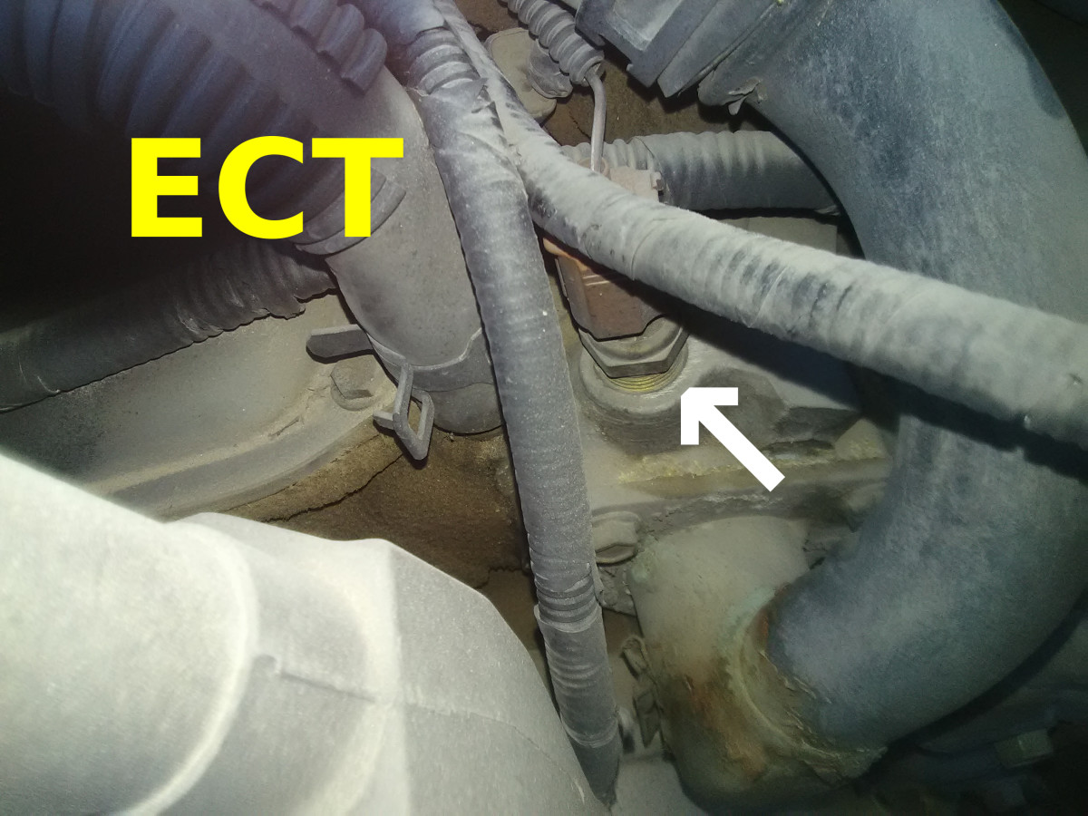 A bad ECT sensor can also cause engine performance problems.