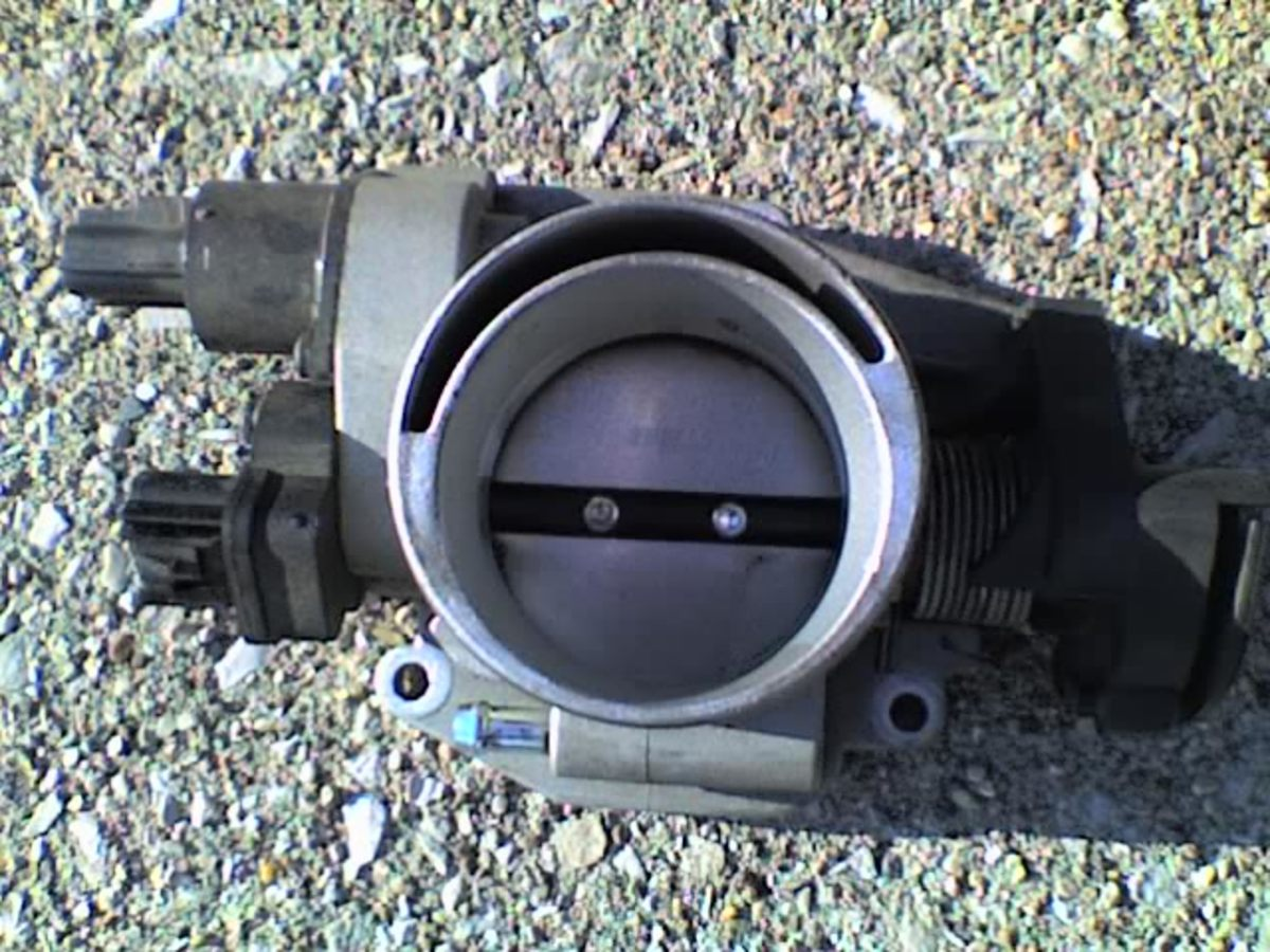 A throttle body tends to accumulate harmful buildup around its bore and under the blade.