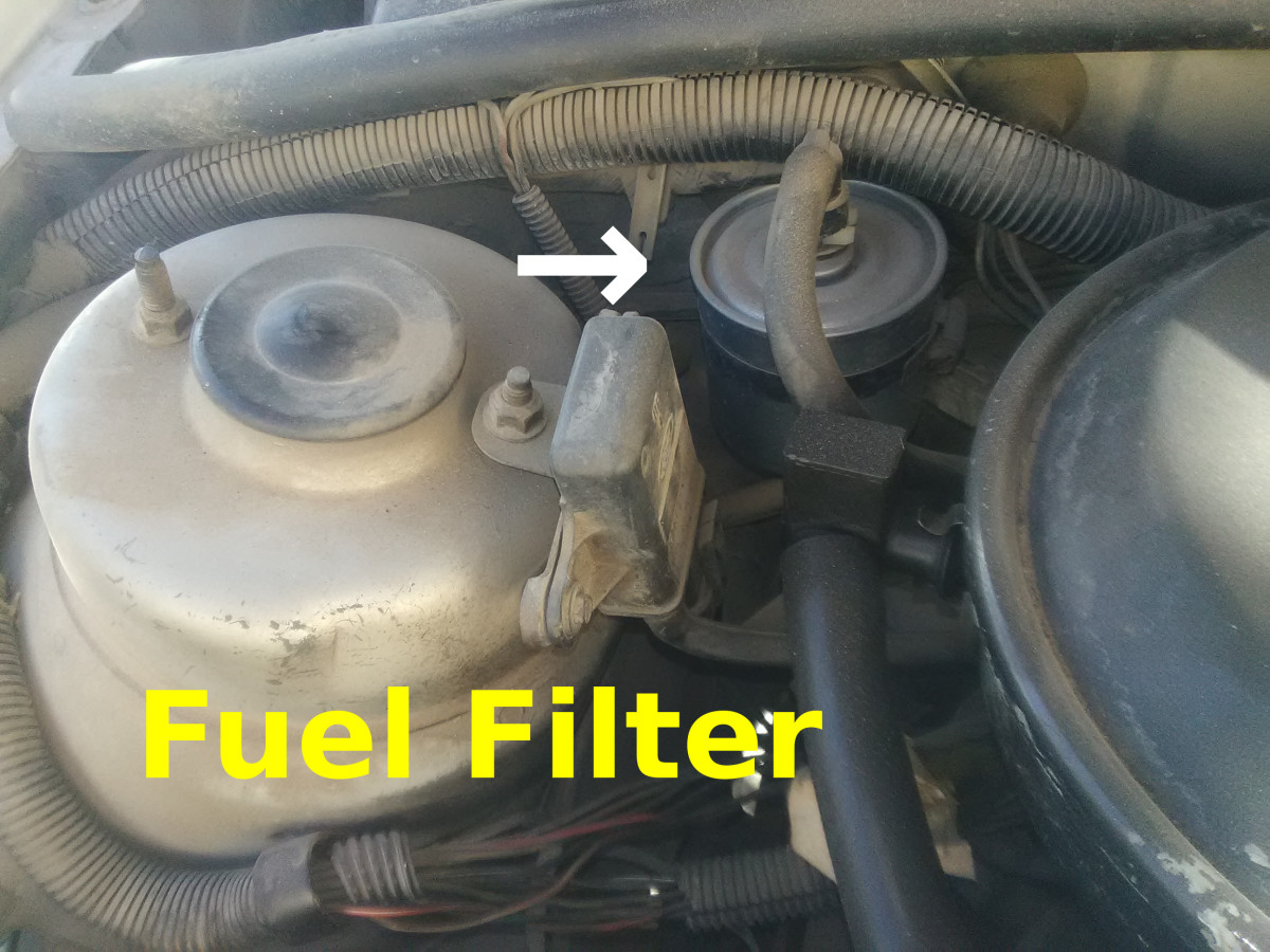 A fuel pressure regulator can fail as well.