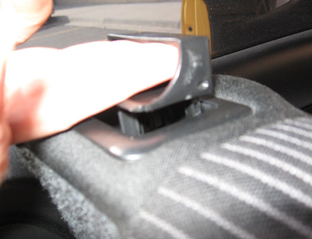 how-to-fix-a-broken-rear-seat-release-latch-vw-mkiv-diy