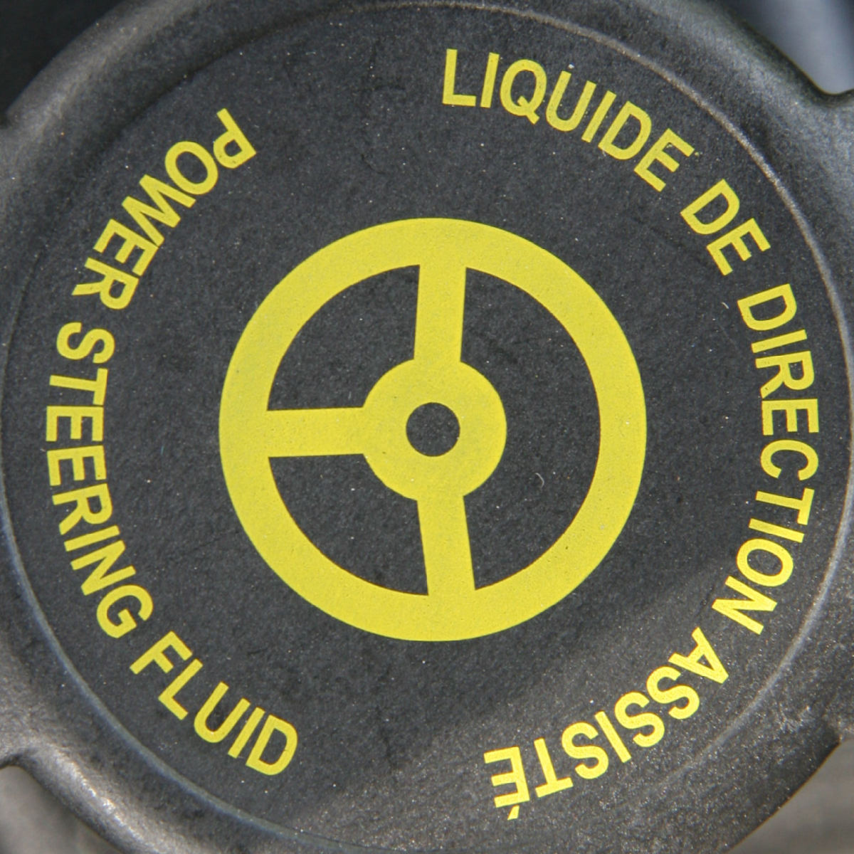 Add only the power steering fluid recommended by your car manufacturer for your specific application.