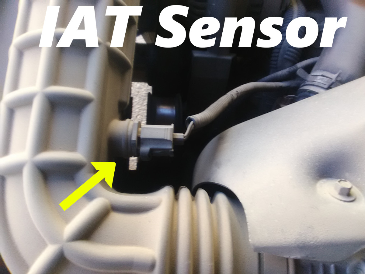 A faulty intake air temperatue sensor can disrupte fuel delivery.