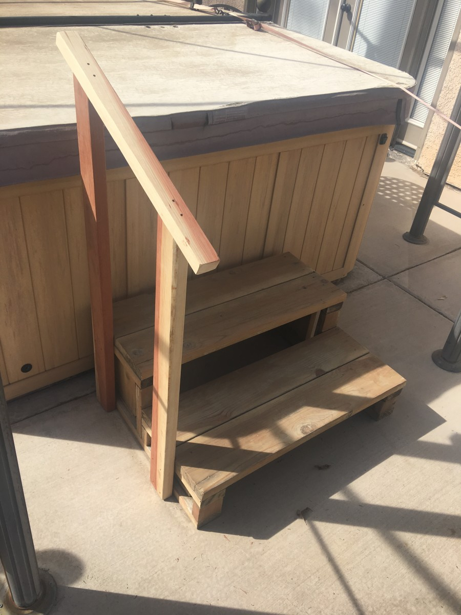 Handrail added