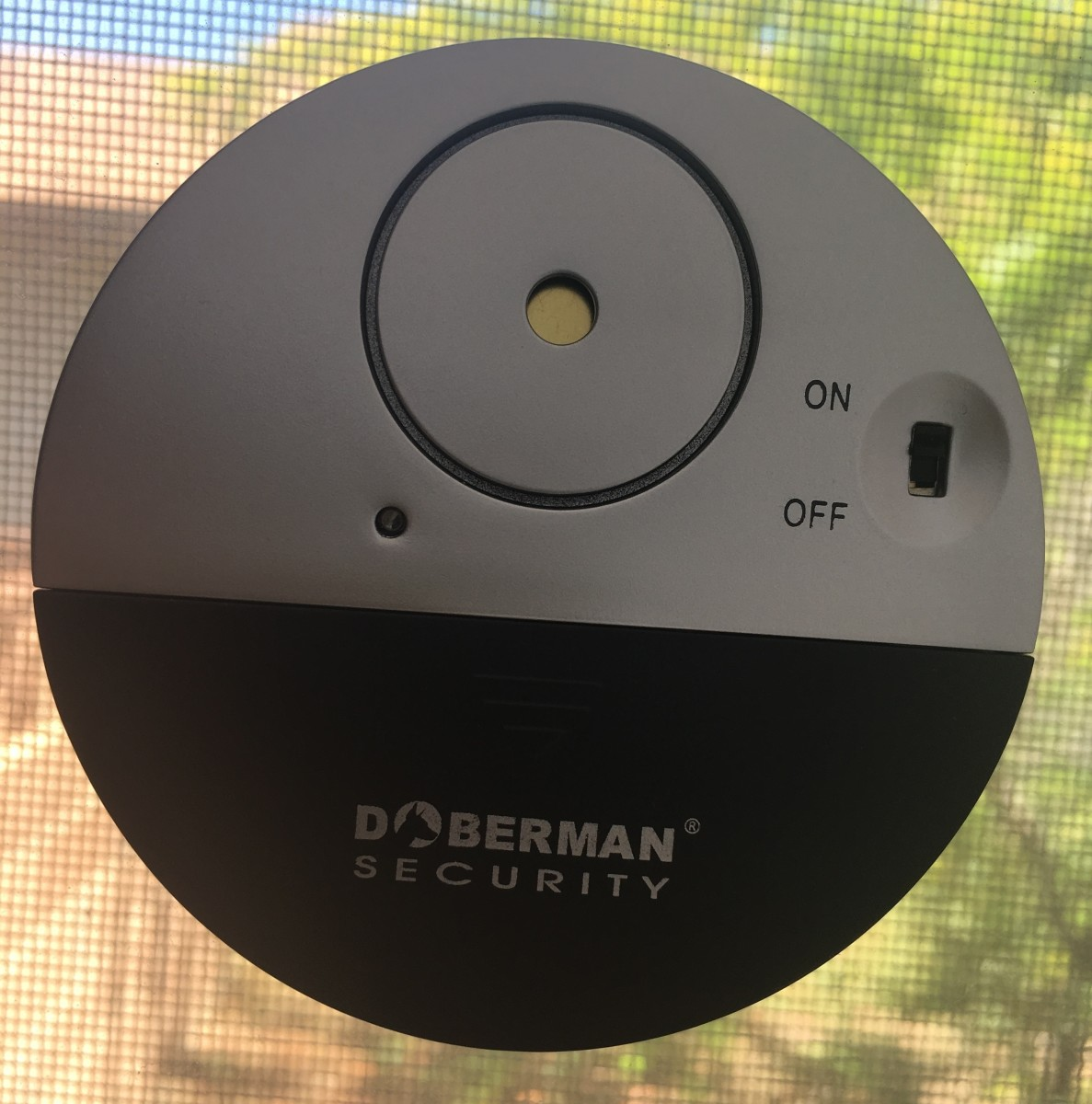 The window alarms are small and look high-tech, even though they are very simple to use.