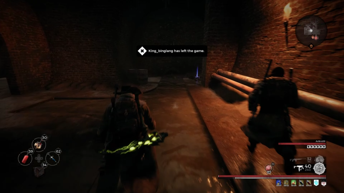 Check in side corners of Marrow Pass as you pass through the circular dungeon layout.