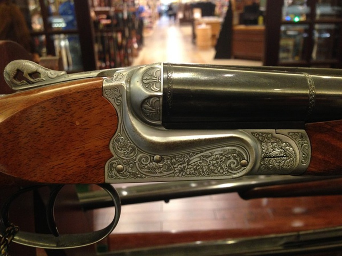 Engraved Winchester Rifle