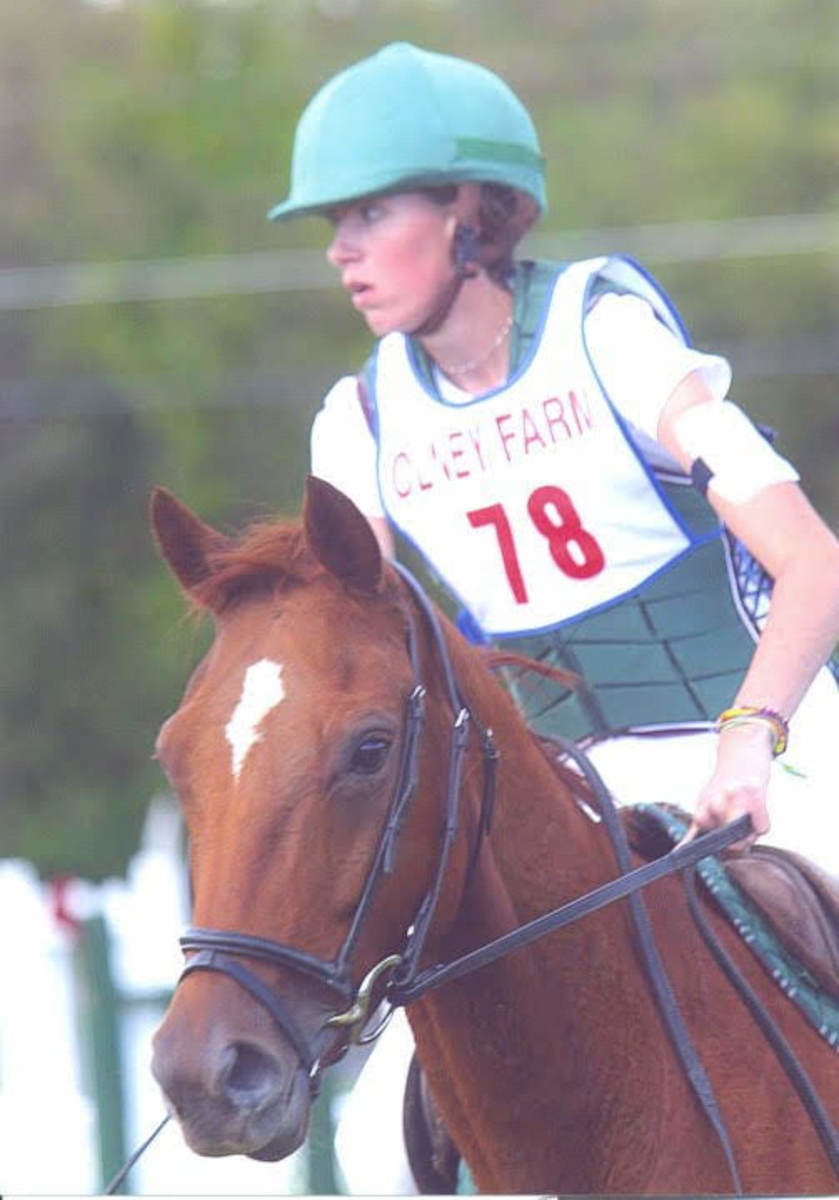 My heart horse, Zelda, and me. I learned more from her than from any other horse I have interacted with.