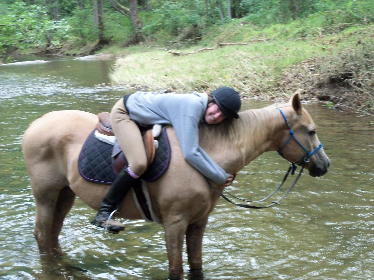 Cory has been gone for a few years now, but I have many fond memories of our times together out on the trails.