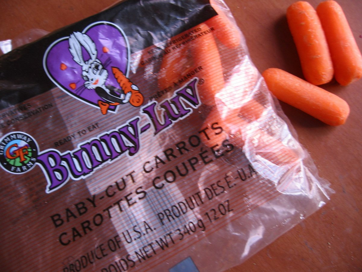 Carrots are a special treat.