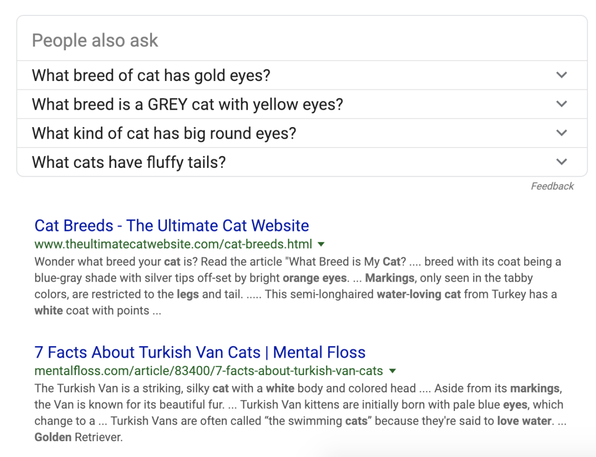 My search easily led me to the Turkish Van, which is identical to my adopted cat.