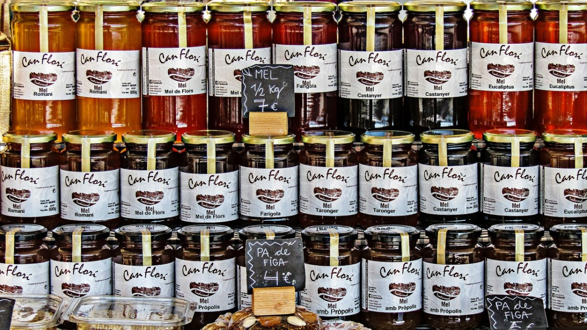 There's always a big market for organic, raw honey.