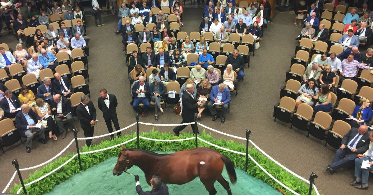Auction in Saratoga Springs