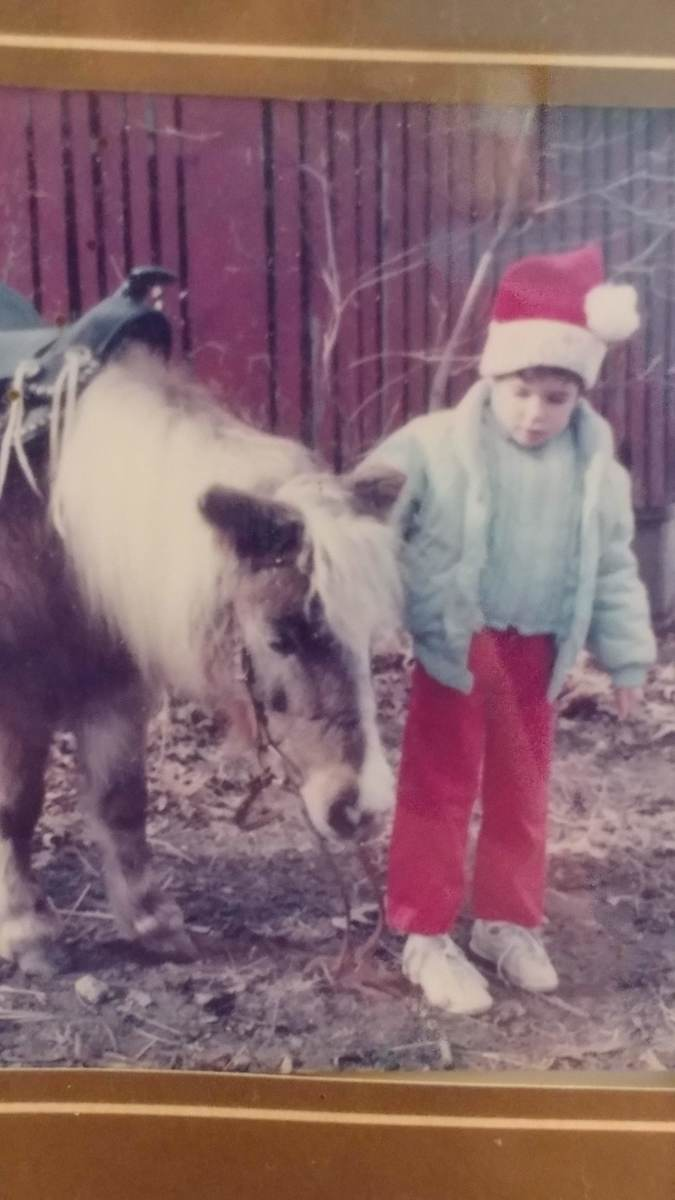 Proof! It isn't a phase for all. That is my first pony and I, and I'm still just as horse crazy as I was back then. Some of us don't grow out of it!