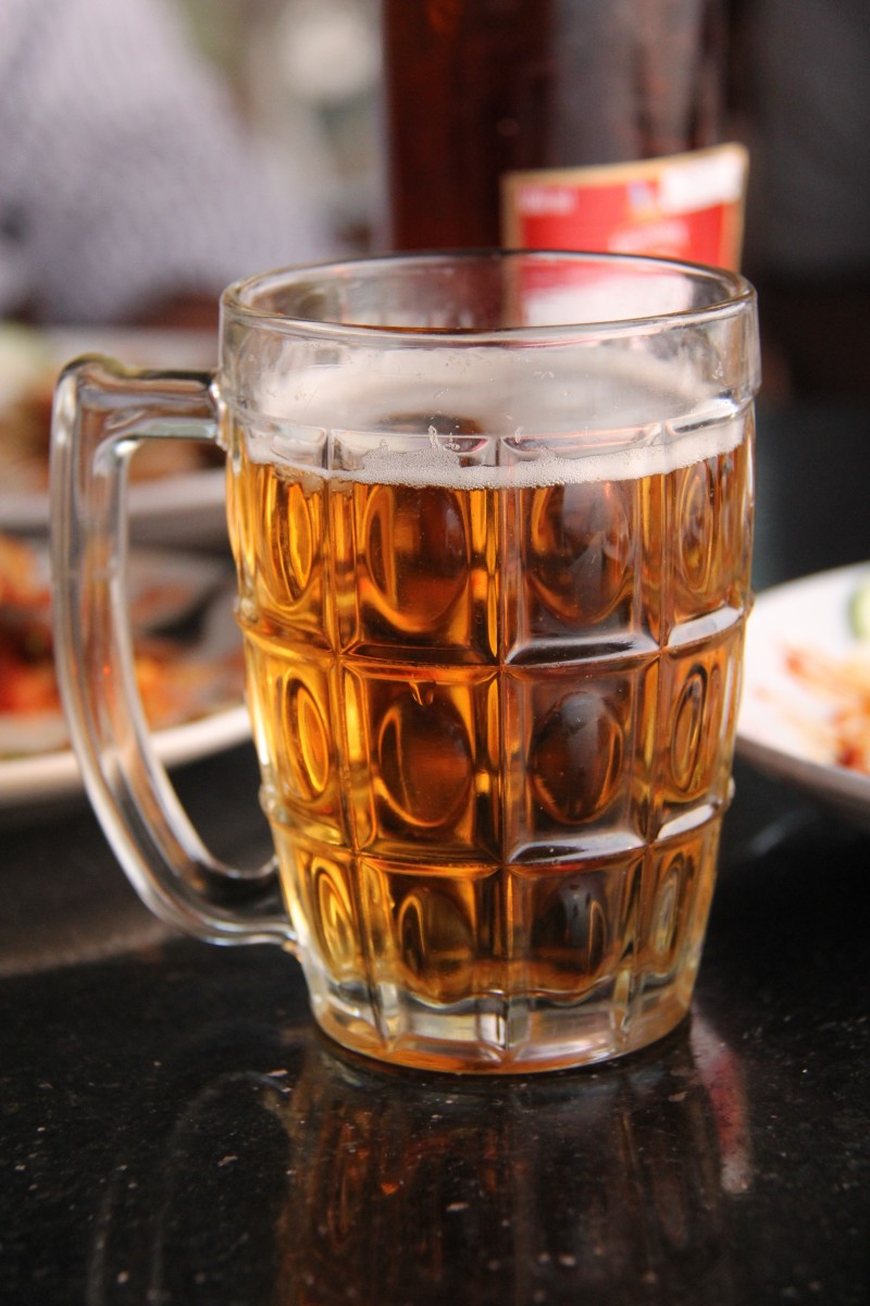 Alcohol poisoning in dogs can be fatal
