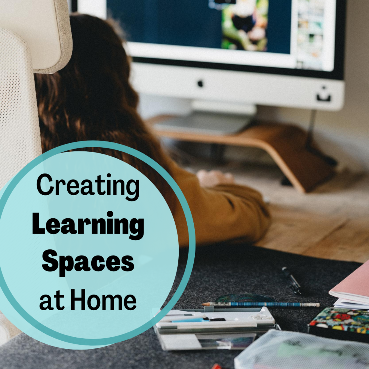 Get advice on creating a space in your home that stimulates learning and minimizes distractions for your child, even if you don't have much room to spare.