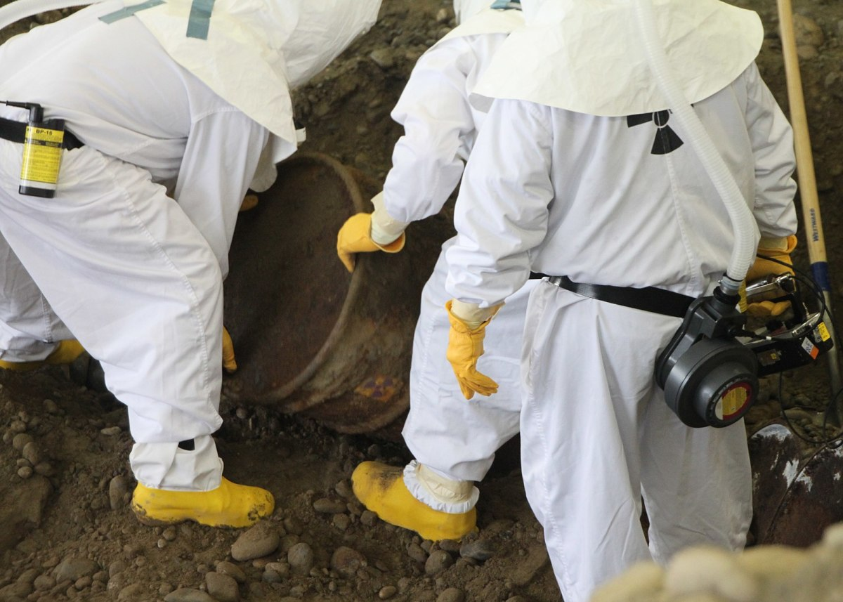 Cleaners that deal with bio-hazardous materials must careful and qualified.