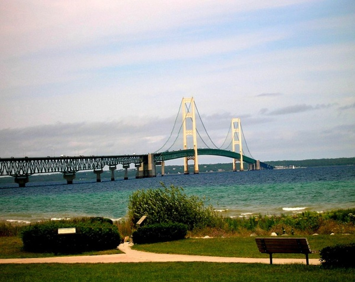 I stayed at this campground on a visit to the island and saw the bridge every day.