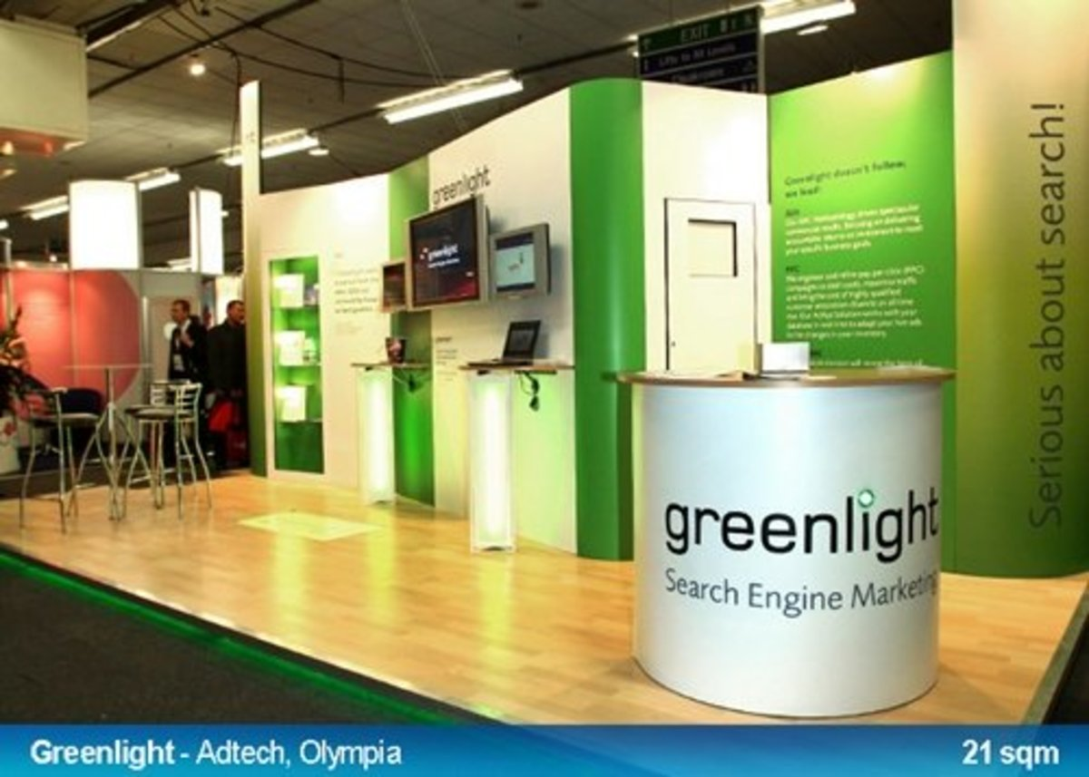 You have a brilliant booth! Train your staff well, fill them with enthusiasm and you will have a great Exhibition Booth Success on your hands!  Picture from Clip Display