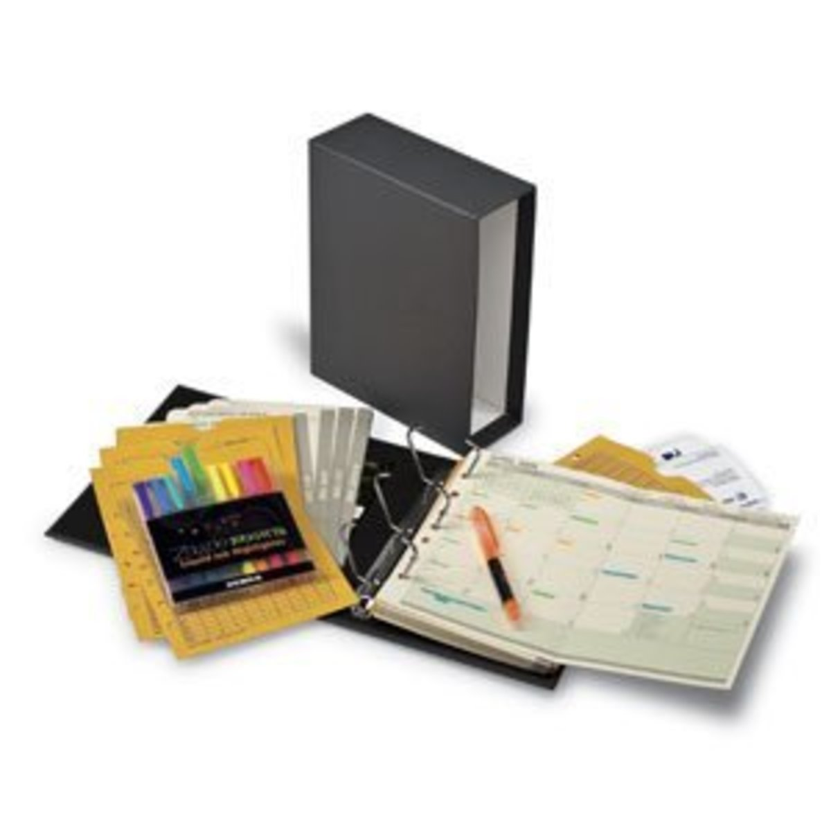The Bill Payer, home financial organizing set.