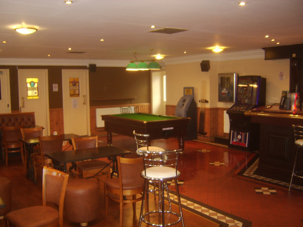 Pubs or Bars with Pool Tables in Anytown