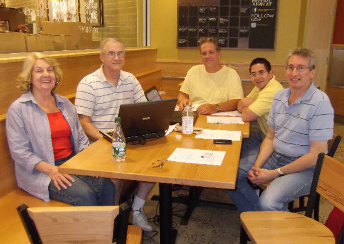 Creating a Local Writer's Group for Authors to Exchange Ideas