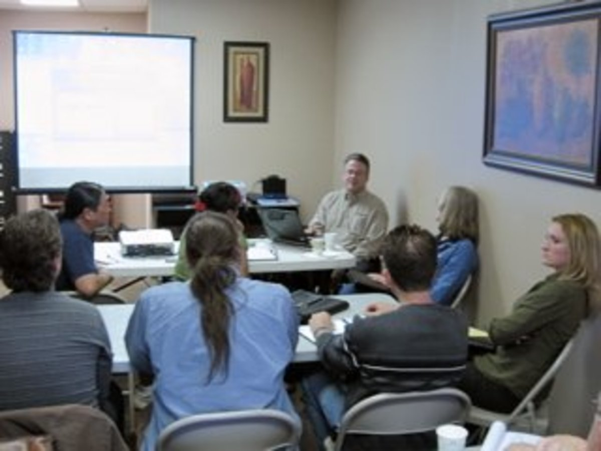Subcontractor training employees of WaterWise Consulting.