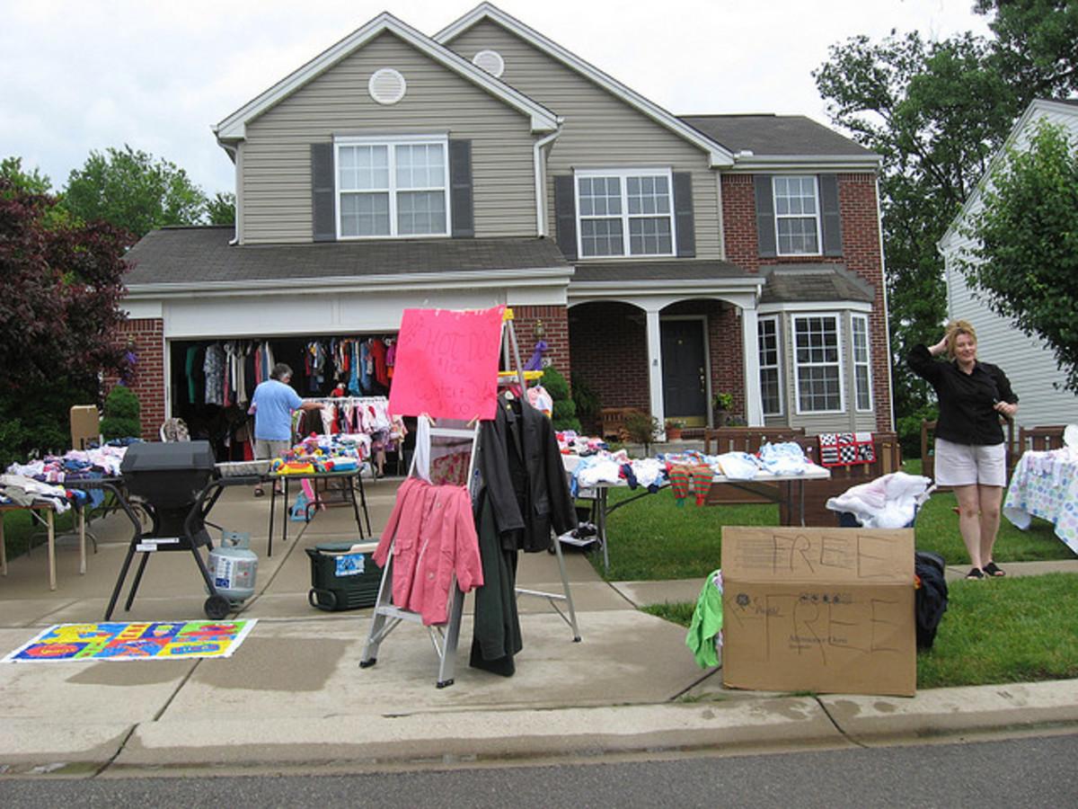 Successful Garage / Yard Sales are well organized!