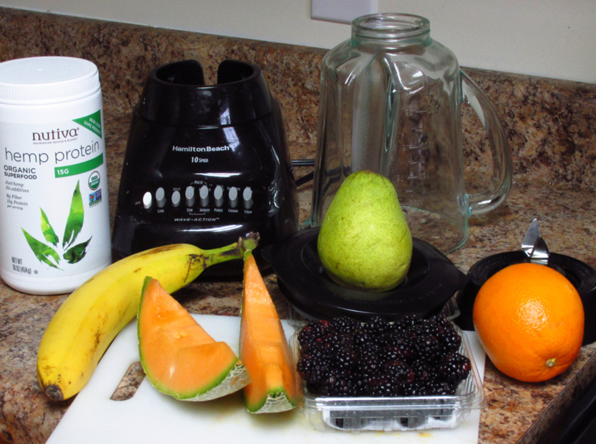 Smoothies are so easy to make and to clean up afterwards and taste great.