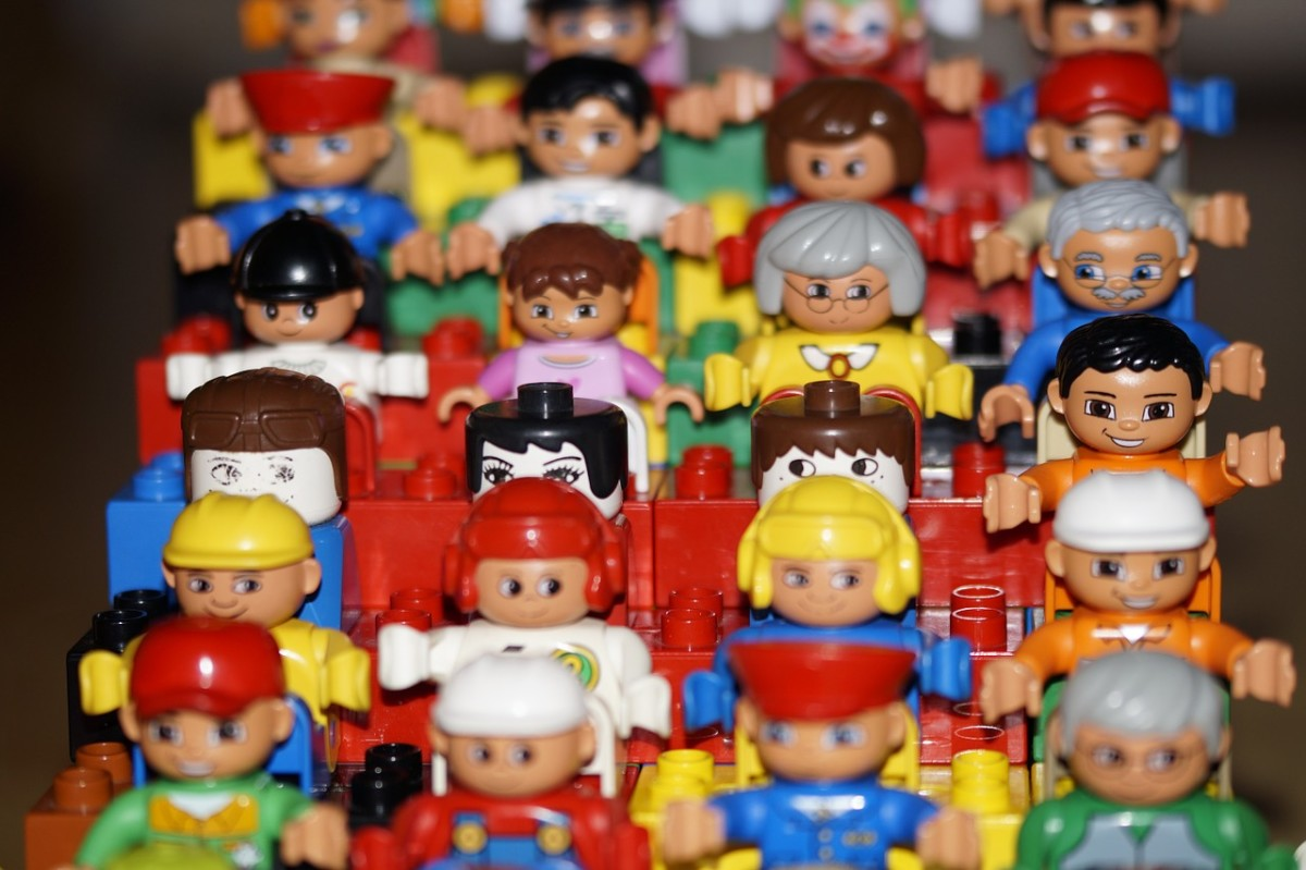 One of the best sellers are minifigures.