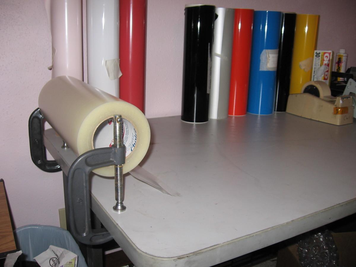 Roll of transfer tape