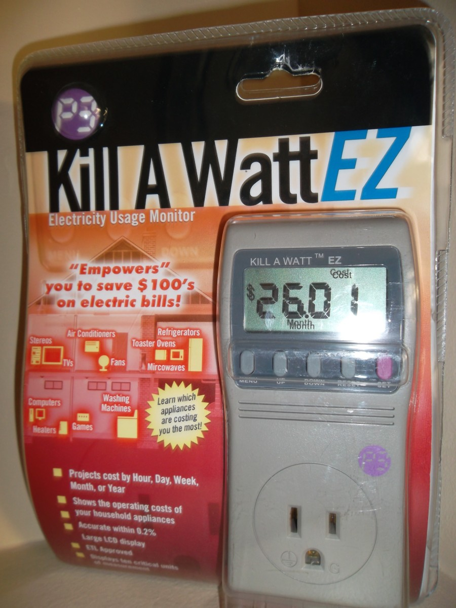 Kill A Watt is a simple, low-cost way to measure watts used and find places to save energy.