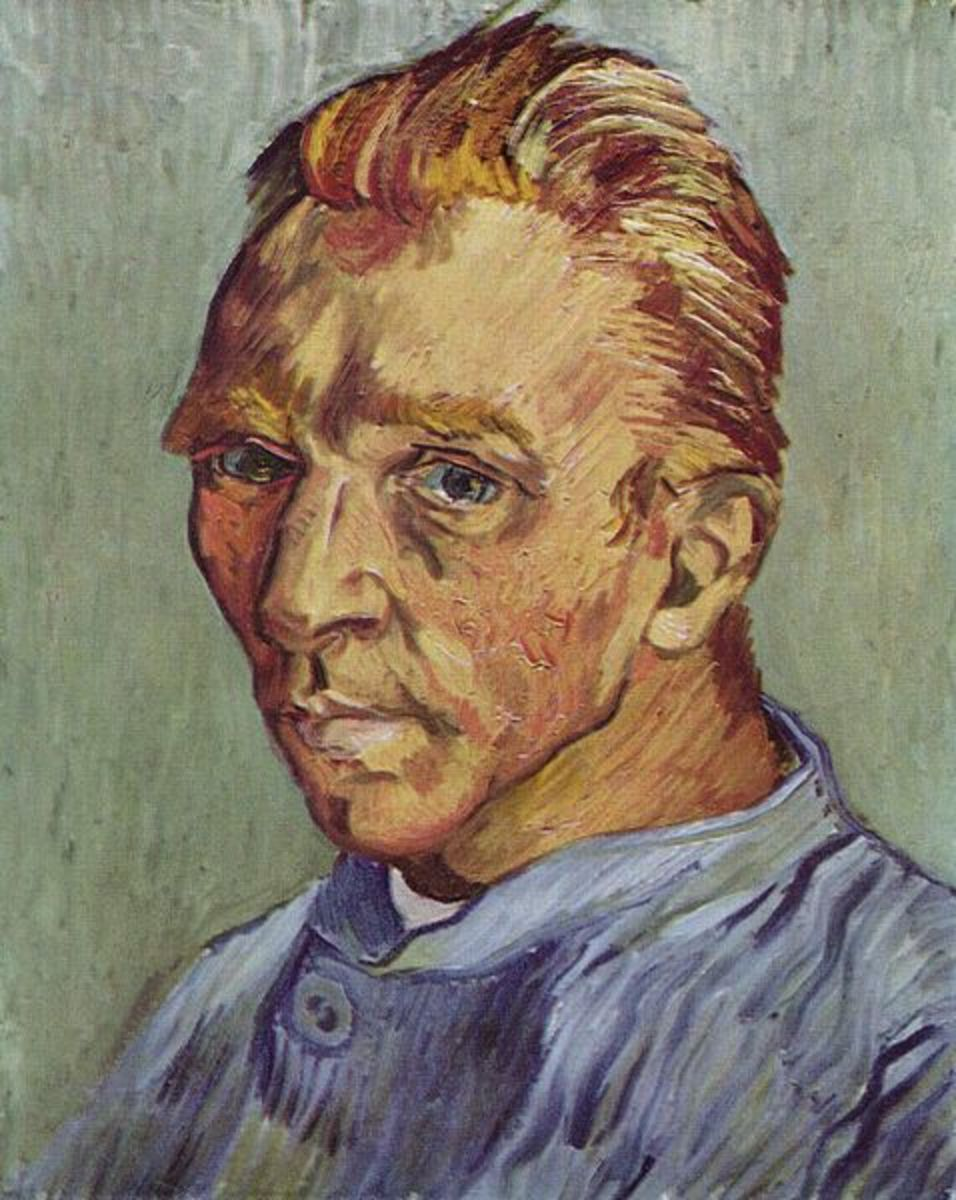 Portrait of the Artist Without Beard by Vincent Van Gogh.