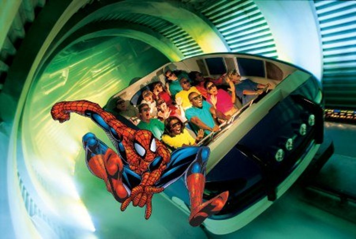 Amazing Adventures of Spider-Man at Universal Studios Orlando