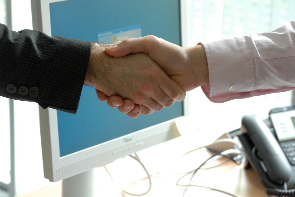 A firm handshake at the end of the exit interview is just as import as it is during an employment interview.