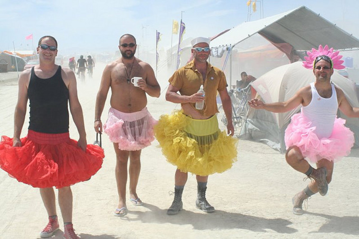 Would you rather wear a tutu in public?