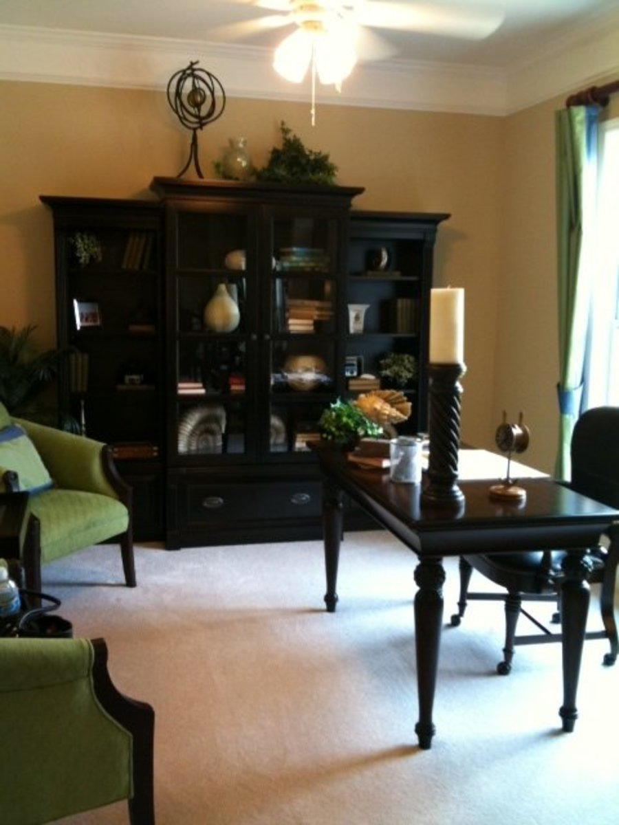 To help you succeed at working from home, if necessary, re-purpose existing space to function as a home office.