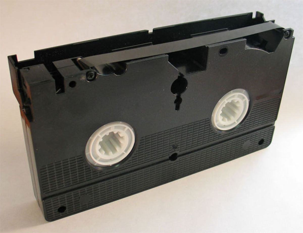 VHS tapes are very durable as long as you don't damage the magnetic strip!
