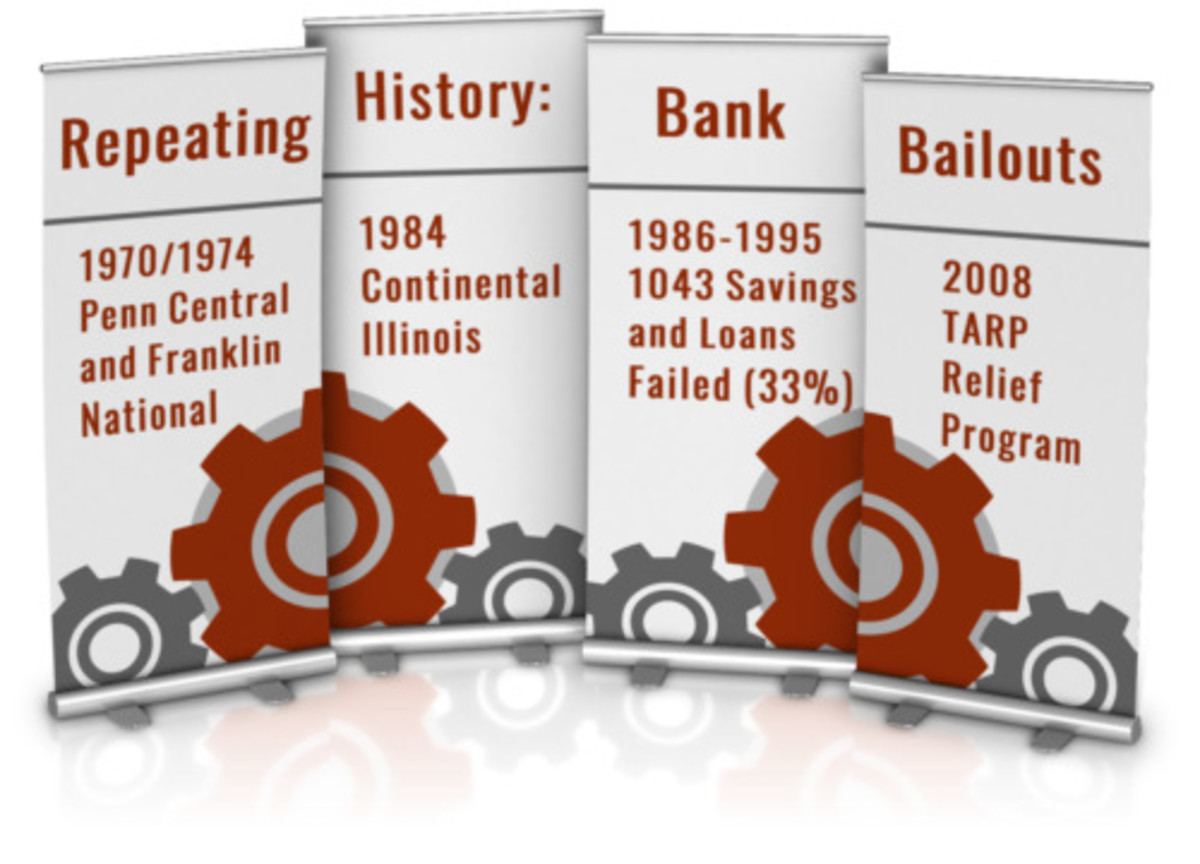 Learn from bank bailout history.