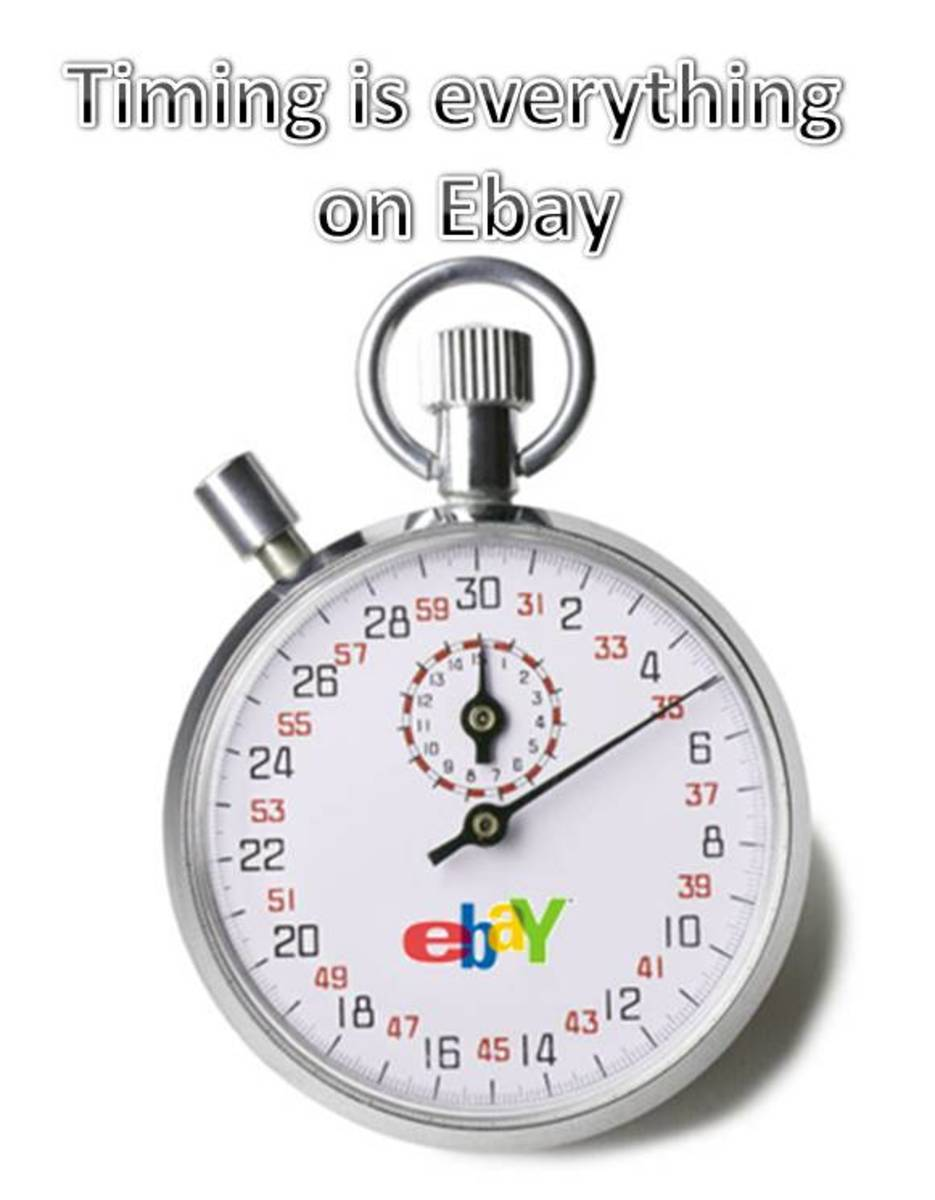 Sell on eBay at the best time of the month.