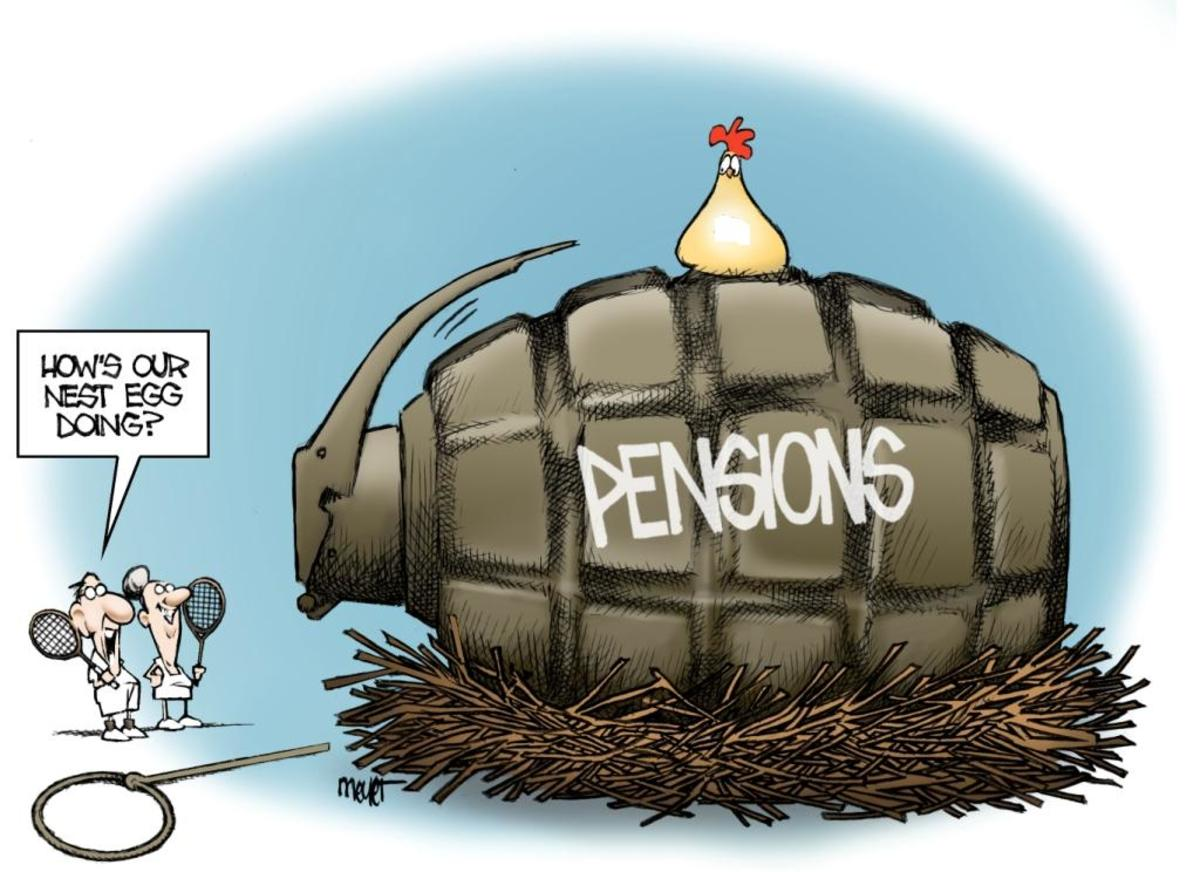 How stable is that pension fund anyways?